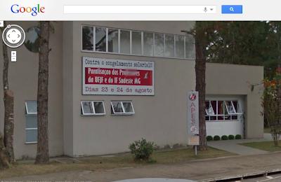 Google Street View registra um ano de enrolação do governo federal com os professores